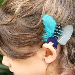 Ear cuff enfant