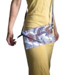 Eventail floral porté
