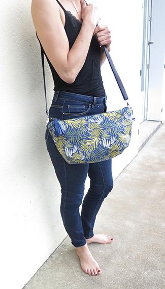 sac tropical J porté