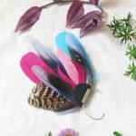 ear-cuff-plume-naturelle-gypsy-rose-bleu